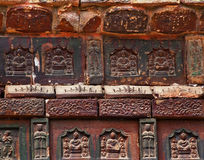 Ancient Buddha Bricks Iron Pagoda China Royalty Free Stock Images