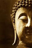 Ancient Buddha face Royalty Free Stock Image