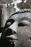Ancient Buddha face Royalty Free Stock Photography