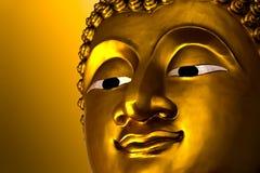Ancient Buddha face, Ayutthaya Royalty Free Stock Photography