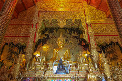 The ancient Buddha Royalty Free Stock Photo