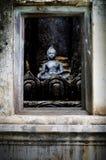 ancient buddha golden image pagond th 库存图片