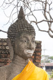 Ancient Buddha Head Stock Photos
