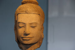 Ancient Buddha head Stock Photos