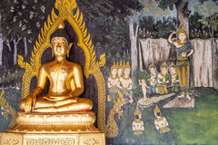 Ancient Buddha Royalty Free Stock Image