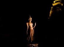 Ancient buddha image Royalty Free Stock Image
