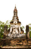 Ancient buddha image Stock Image