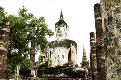 Ancient buddha image Stock Photo