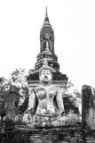 Ancient buddha image Royalty Free Stock Photo