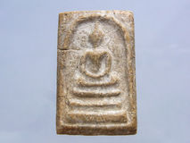 Ancient buddha image Stock Images