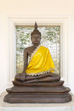 The Ancient Buddha images Royalty Free Stock Image