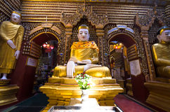 Ancient Buddha images Stock Photo