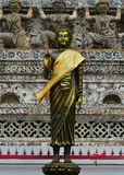 Ancient buddha images. Wat Arun temple. Stock Images