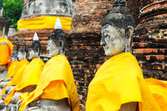 Ancient Buddha Royalty Free Stock Images
