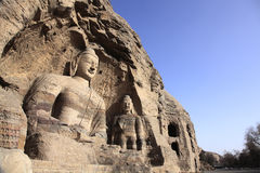 Ancient Buddha Sculpture Stock Images
