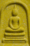 Ancient Buddha sculpture Stock Photo