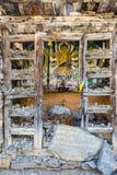 Ancient buddha shrine. Stock Photography