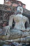 The Ancient Buddha. Royalty Free Stock Photography