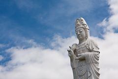 Ancient buddha statue Stock Photography