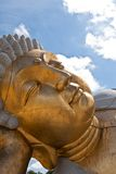Ancient buddha statue Stock Image