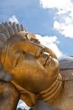 Ancient buddha statue Stock Image