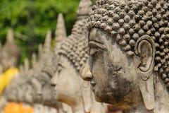 Ancient Buddha Statue in Ayutthaya Stock Photography