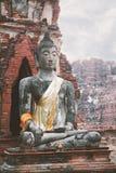 Buddha statue Ayutthaya near Bangkok, Thailand Stock Image