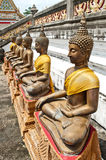 Ancient Buddha Statue Stock Images