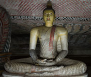 Ancient Buddha statue image Royalty Free Stock Photography