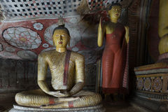 Ancient Buddha statue images Stock Photography
