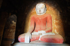 Ancient Buddha statue Stock Photos