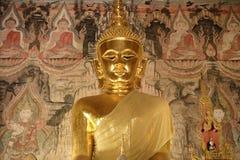The ancient buddha statue, Nan, Thailand. Stock Image