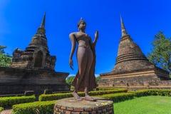 Ancient Buddha statue Royalty Free Stock Photo