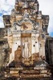 Ancient Buddha Statue at Sukhothai historical park, Mahathat Temple ,Thailand. Royalty Free Stock Photography