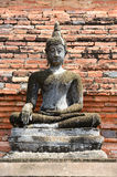Ancient buddha statue. Sukhothai Historical Park, Sukhothai Prov Royalty Free Stock Photo