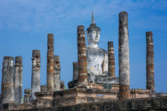 Ancient buddha statue. Stock Photos