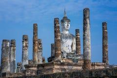 Ancient buddha statue. Sukhothai Historical Park, Sukhothai Province, Thailand Stock Photos