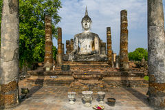 Ancient buddha statue. Stock Images