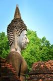 Ancient buddha statue. Sukhothai Historical Park, Sukhothai Province, Thailand Stock Images