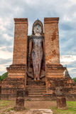 Ancient buddha statue. Stock Image