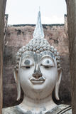 Ancient buddha statue, Sukhothai Historical Park Stock Image