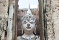 Ancient buddha statue, Sukhothai Historical Park Royalty Free Stock Photography