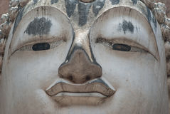 Ancient buddha statue, Sukhothai Historical Park Royalty Free Stock Photos