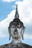 Ancient buddha statue, Sukhothai Historical Park Royalty Free Stock Photo