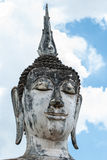 Ancient buddha statue, Sukhothai Historical Park Royalty Free Stock Images