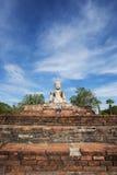 Ancient Buddha statue at Sukhothai historical park, Thailand. Stock Photography