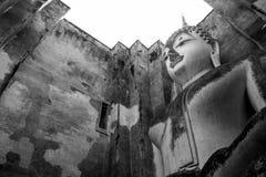 Ancient buddha statue. Sukhothai Historical Park,Thailand Stock Image