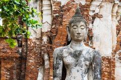 Ancient Buddha statue Stock Photography