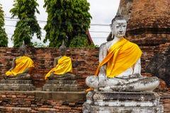 Ancient Buddha statue Stock Photo