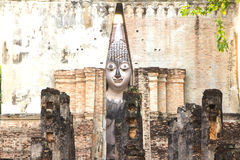 Ancient Buddha Statue, world heritage site Stock Image